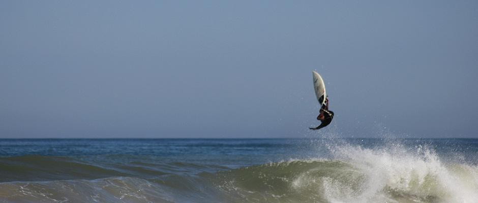 Plage surfing